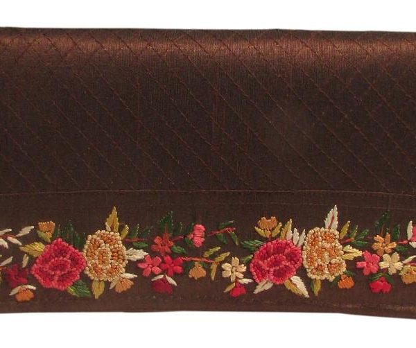 Clutch med kolkata embroidery-608