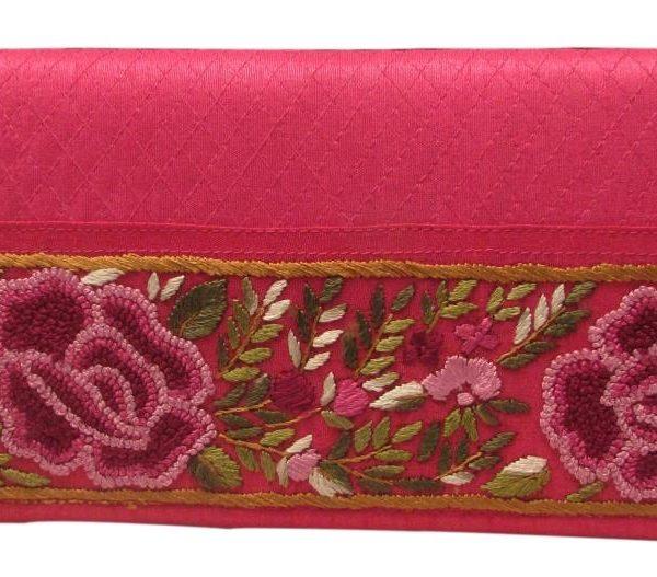 Clutch med kolkata embroidery-623