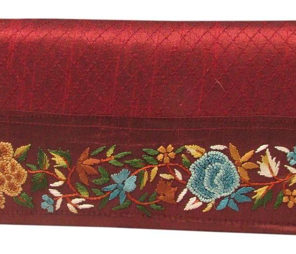 Clutch med kolkata embroidery-612