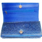 Indha zari border clutch Medium-428