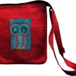 Indha Craft Women Casual Red Polyester Sling Bag-0