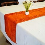 Indha craft table runner plain-400