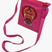 Indha Kathakali embroidery sling bag-0