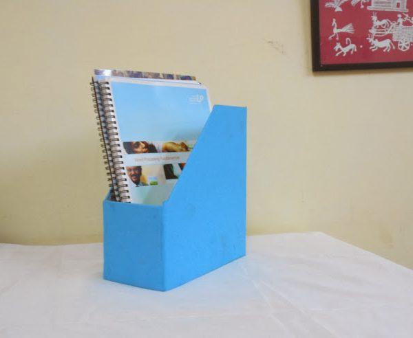 Magazine holder blue-0
