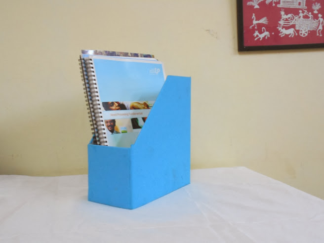 Magazine holder blue-0