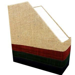 Magzine holder jute triangle-0