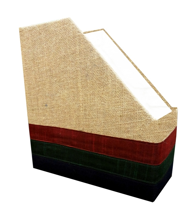 Magzine holder jute triangle-0