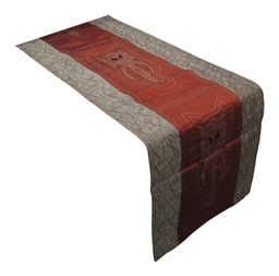 Table runner elephant trunk embroidery-761
