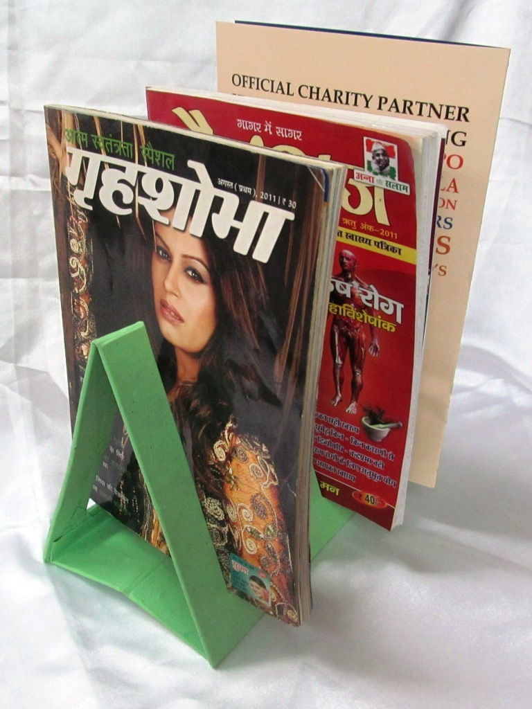 Magazine holder triangle-0