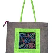 Indha Craft Hand-held Bag smart No.1 embroidery -937