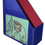 Indha Craft Table Top Book/Magazine Holder-0