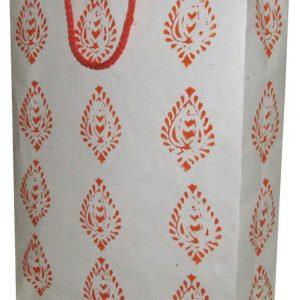 Recycle Paper Bag in Block Print Paper ( Set of 10)-0