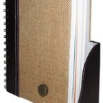 Recycled Paper 6x8 Inch spiral Note Pad-1604