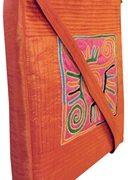 Indha Craft  Smart No.1 Patch Embroidered  Design Sling Bag Maroon Color-1951