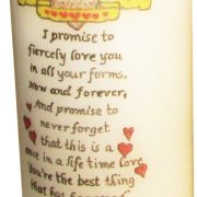 Promise Day Candles with an elegant hand-made Gift  box-2000