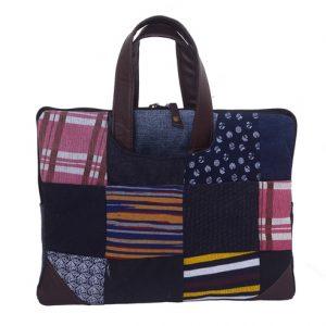 Denim Patch Unisex Laptop Bag