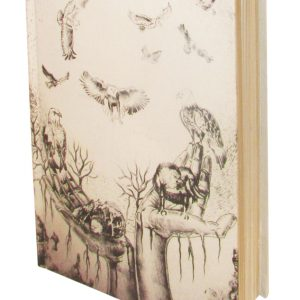 Birds on Hand Recycled Paper Diary