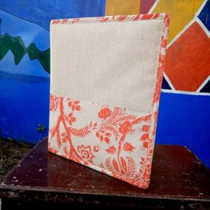 Jute Cotton and Printed Cotton File Folder