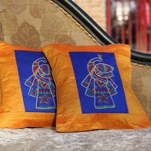 12X12 Hand Embroidered Ethnic Cushion Covers