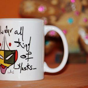 Coffee Mug With Block Print Box