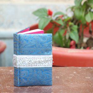 Zari Border Small Diary