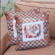 cushion cover face print