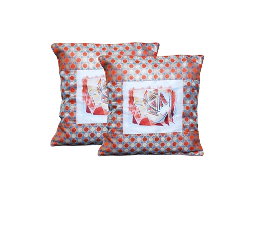 cushion cover face print1