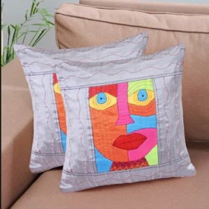 16×16 inch Set Of 2 Ethnic Cushion Cover