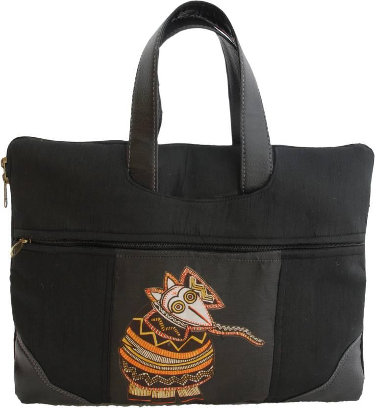 indha-craft-elephant-print-jute-laptop-massenger-bag-iclbep617bc-original-imaev6frxzmv2z6v