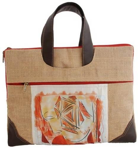 indha-craft-grafati-mask-print-jute-fabric-laptop-messenger-bag-original-imaev6f4tbvhuwd7