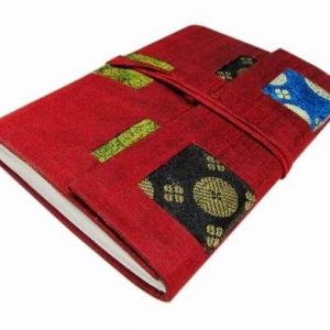 Dupion And Brocade Patchwork Multicolor Diary