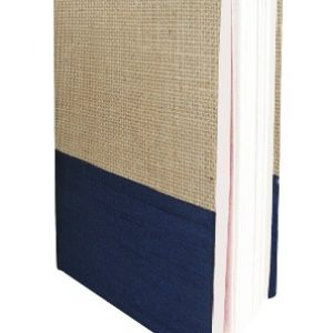 Jute & Dupion Recycled Paper Diary