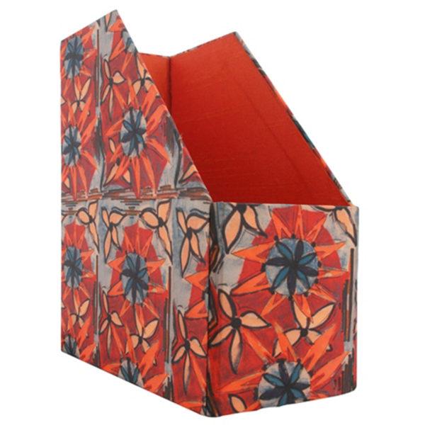 Magazine Holder Buy Online At Indha Craft Curated Online Shop For Interesting Orange Magazine Holder