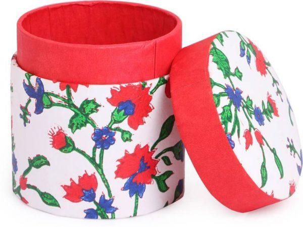 block-printed-bangle-box-in-round-shaped-icrbs1bp-indha-craft-original-imaf5dudee5hw38k