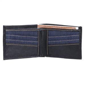 Indha Craft Men Blue Denim Wallet  (6 Card Slots)