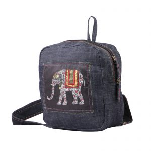 Denim Backpack for Men and Women by Indha craft