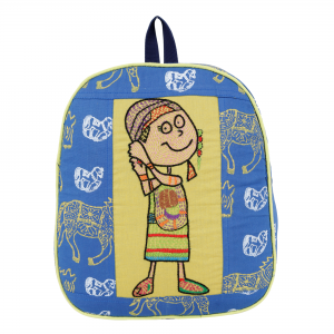 Indha Craft Cotton Handmade School Bag for Kids