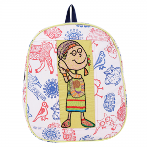 Handmade Cotton Kids School Bag