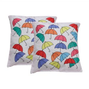 Indha Craft 16″ Digital Print Decorative Cushion Cover Pack of 2