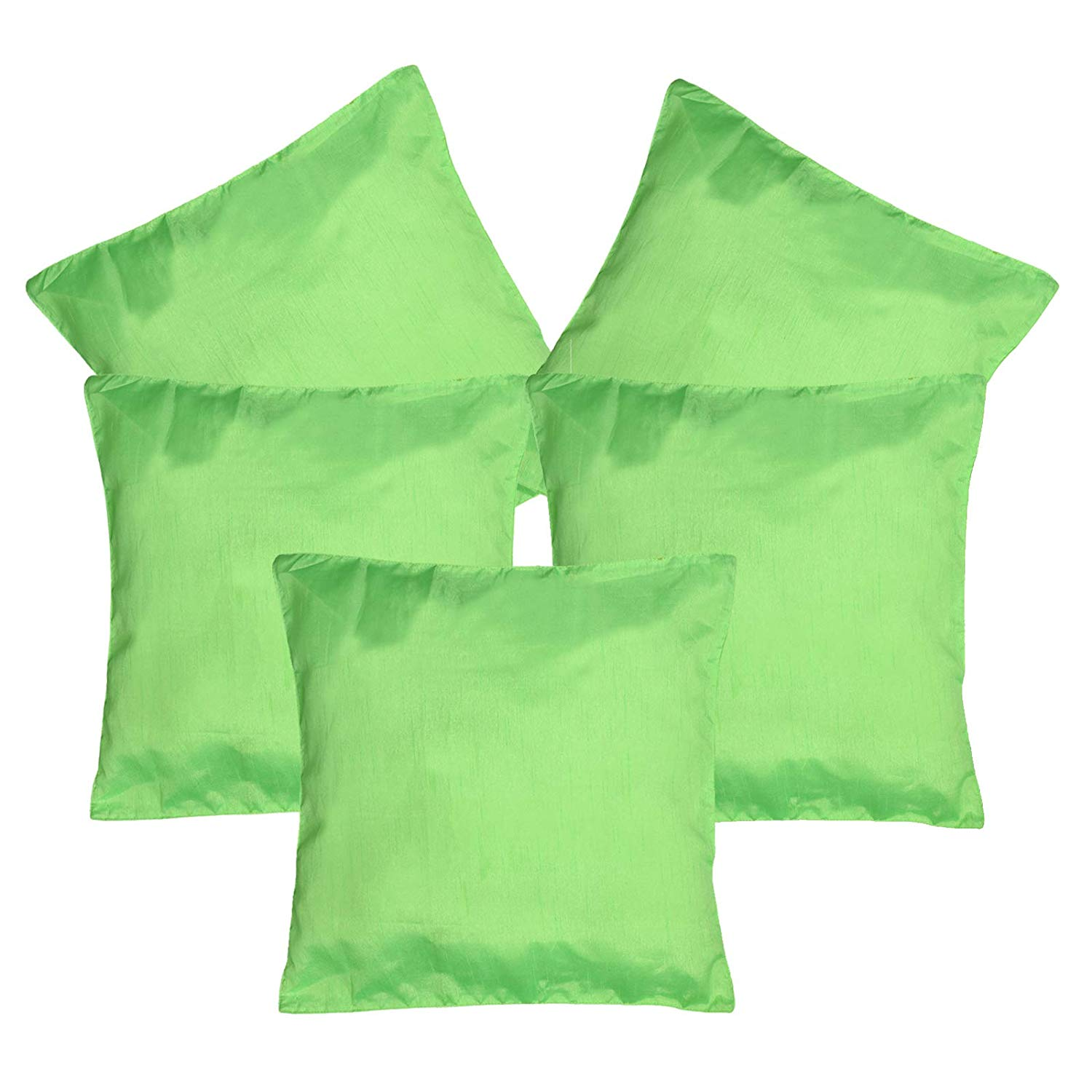 cushion cover pack of 5 green