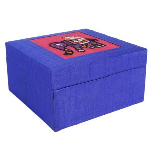 Blue Colour Multi utility Make Up and Jewellery Vanity Box