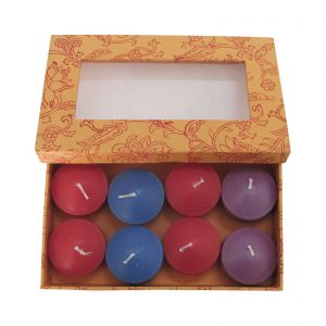Decorative Paraffin Wax Floating Candle (Pack of 8 )