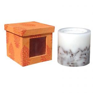 Decorative Paraffin Wax Clove Piller Candle