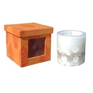 Decorative Pillar Candle at Indha Craft