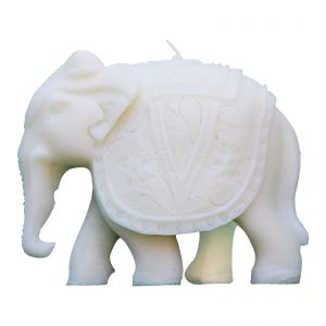 Elephant Shaped Paraffin Wax Candle