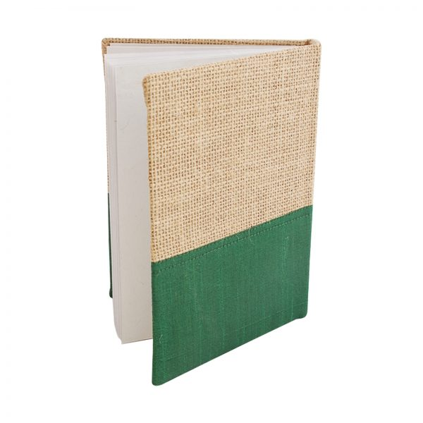 jute-dupion-diary-green