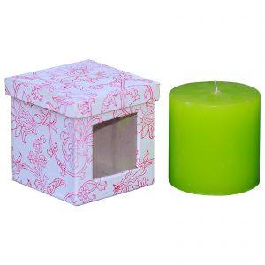 Lemon Grass Scented Pillar Candle