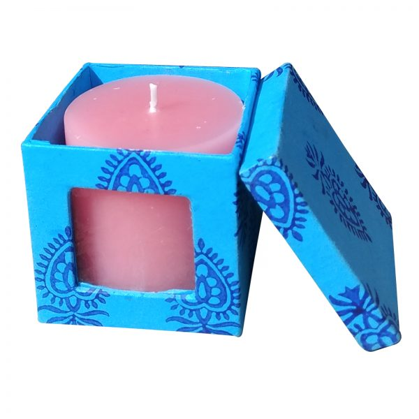 rosescented-candle