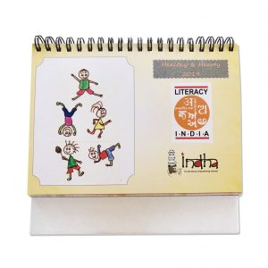 Indha Craft Table Top Desk Calendar 2019
