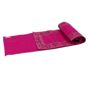 Indha Craft Pink Colour 6 Seater Dining Table Runner